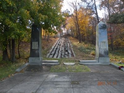 The Granite Railway Marker image. Click for full size.