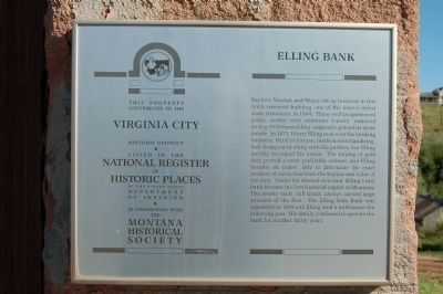 Elling Bank Marker image. Click for full size.