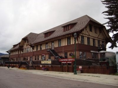 Whitefish Depot image. Click for full size.