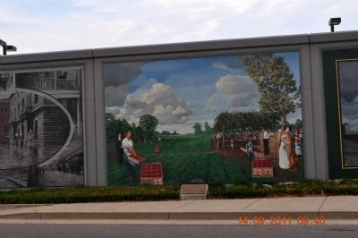 Strawberry Capital Marker & Mural image. Click for full size.