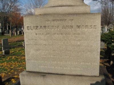 Jedidiah Morse Marker image. Click for full size.