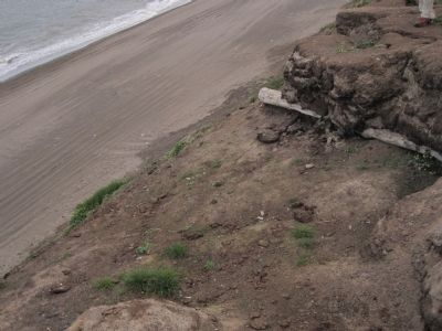 Traditional Home being Exposed by Erosion image. Click for full size.