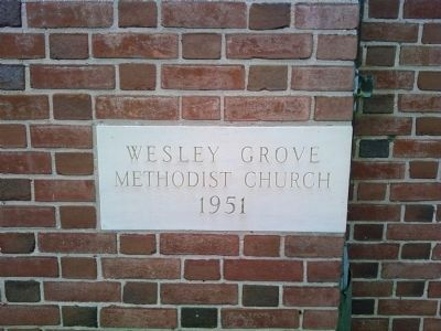 Wesley Grove United Methodist Church image. Click for full size.