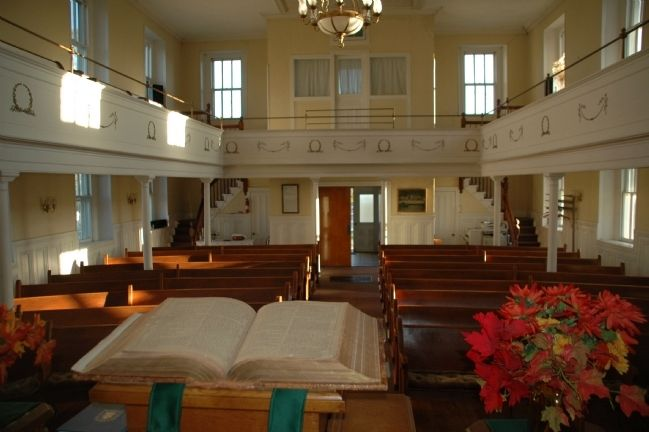 Sanctuary of the Esperance Presbyterian Church image. Click for full size.