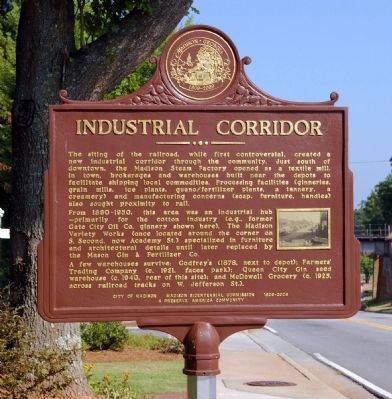 Industrial Corridor Marker image. Click for full size.