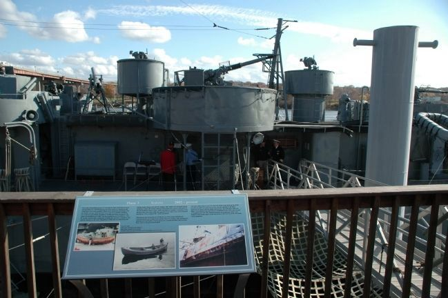 The USS SLATER - Phase 3 Albany 2002 - Present Marker image. Click for full size.