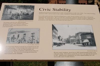 Civic Stability Marker image. Click for full size.