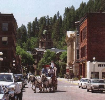 Deadwood's Federal Plaza image. Click for full size.