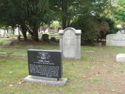 Walter Camp Marker and Headstone image. Click for full size.