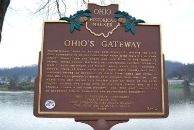 Ohio's Gateway Marker image. Click for full size.