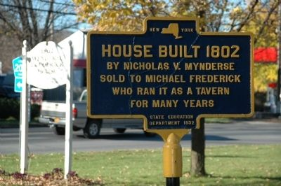 House Built 1802 Marker image. Click for full size.