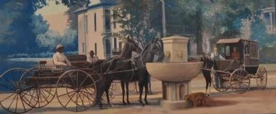 Horse Drinking Fountain image. Click for full size.