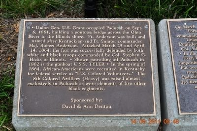 Union Gen. U.S. Grant Marker image. Click for full size.