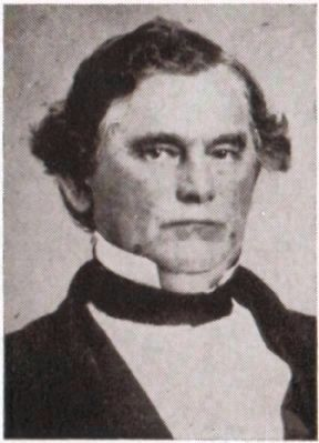 John Alfred Calhoun<br>January 8th 1807 - August 25th 1874 image. Click for full size.