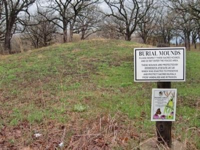 Nearby Burial Mounds Photo, Click for full size