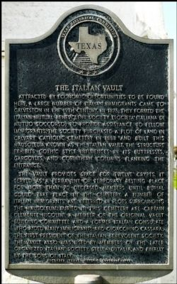 The Italian Vault Marker image. Click for full size.