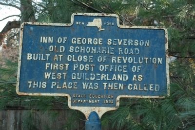 Inn of George Severson Marker image. Click for full size.