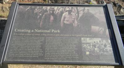 Creating a National Park Marker image. Click for full size.