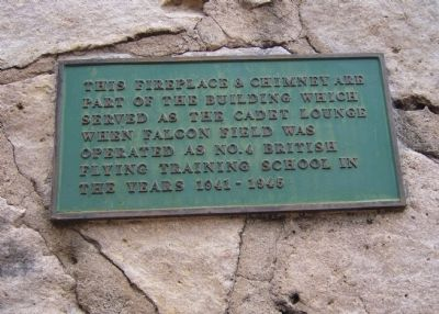 Fireplace Plaque Photo, Click for full size