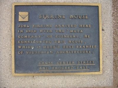 Sirrine House Marker image. Click for full size.