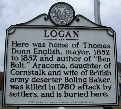 Logan Marker image. Click for full size.