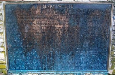 Mary White Memorial Panel image. Click for full size.