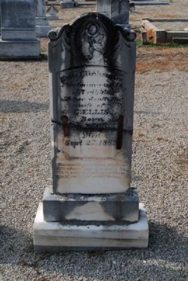 Essie Clinkscales Tombstone image. Click for full size.