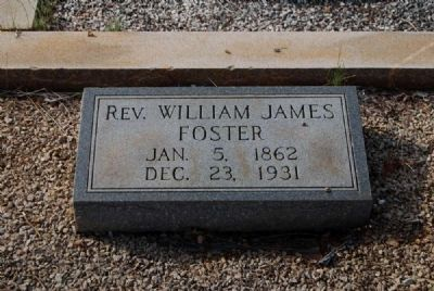 Rev. William James Foster image. Click for full size.
