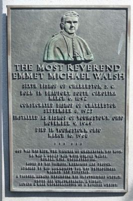 The Most Reverend Emmet Michael Walsh Marker image. Click for full size.