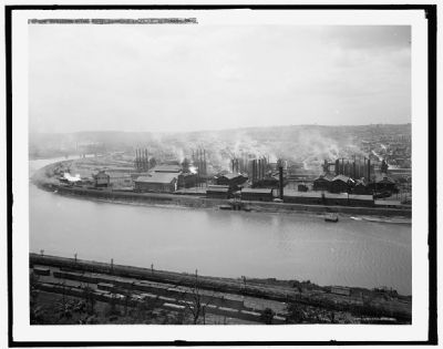 Duquesne Steel Plant, Carnegie Steel Co., Duquesne, Pa. image. Click for full size.