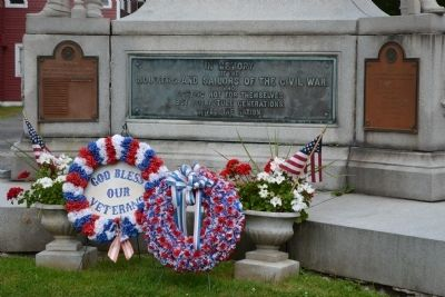 Johnstown Civil War Memorial Marker image. Click for full size.