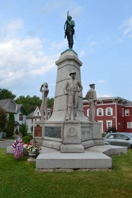 Johnstown Civil War Memorial image. Click for full size.