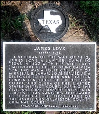 James Love Marker image. Click for full size.