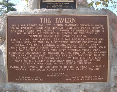 The Tavern Marker Photo, Click for full size