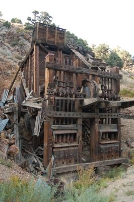The Golden Gate Mine Stamp Mill image. Click for full size.