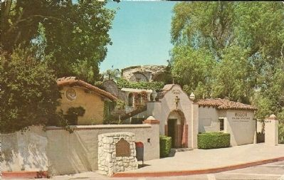 San Juan Capistrano Mission image. Click for full size.