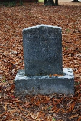 Willie Lee Blackwell Tombstone image. Click for full size.