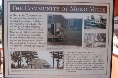The Community of Mono Mills - Panel 5 image. Click for full size.