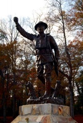 World War I Memorial<br>Spirit of the American Doughboy image. Click for full size.