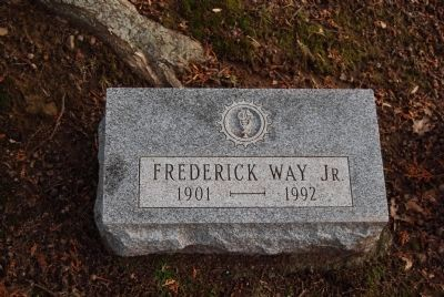 Capt. Frederick Way, Jr. Grave Photo, Click for full size