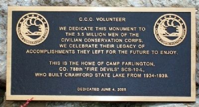 C.C.C. Volunteer Marker image. Click for full size.