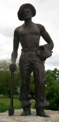 C.C.C. Volunteer Statue image. Click for full size.