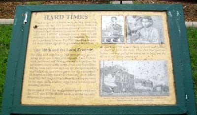 Hard Times Marker image. Click for full size.