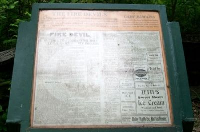 The Fire Devils Marker image. Click for full size.