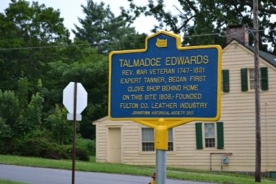 Talmadge Edwards Marker image. Click for full size.