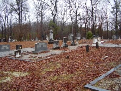 Mush Creek Baptist Cemetery image. Click for full size.