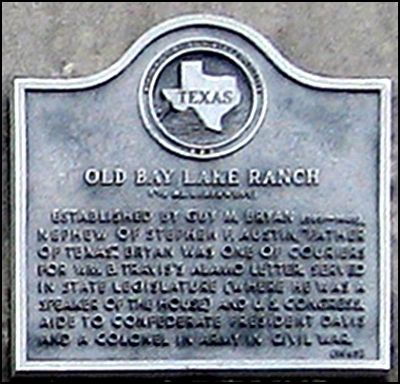 Old Bay Lake Ranch Marker image. Click for full size.