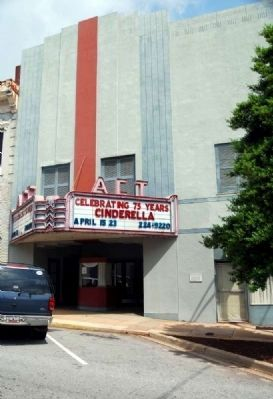 Anderson Community Theater<br>132 (former 131) East Whitner Street Photo, Click for full size