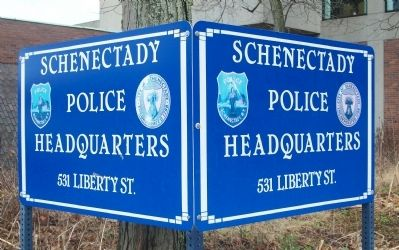 Schenectady Police Department - 531 Liberty Street image. Click for full size.