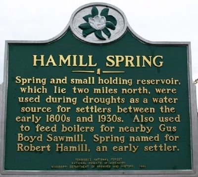 Hamill Spring Marker image. Click for full size.